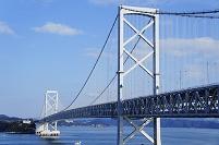 徳島県 鳴門海峡と大鳴門橋