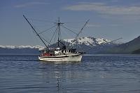 アメリカ アラスカ アイシーストレート 漁船