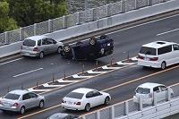 高速道路での交通事故