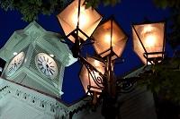 北海道 マジックアワーの時計台
