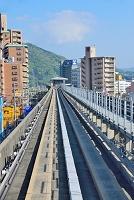 広島市 アストラムライン 案内軌条