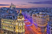 スペイン 道のある風景
