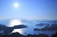 長崎県 九十九島と太陽