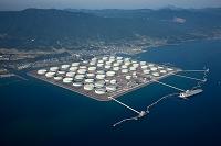 鹿児島県 喜入の石油基地