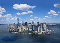 アメリカ合衆国 マンハッタン ニューヨーク市 街並み