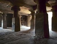 インド エレファンタ石窟群 第1窟