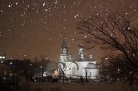 北海道 函館市 冬のハリストス正教会