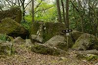 岡山県 八畳岩(吉備の中山)
