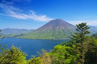 栃木県 男体山と中禅寺湖