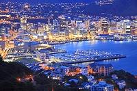 ニュージーランド ウェリントン夜景