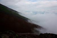 山梨県 富士山中腹のガス