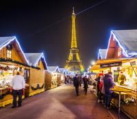 フランス パリ クリスマスマーケット