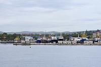 ロシア サハリン コルサコフ港