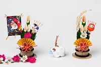 高山土人形未土鈴と正月飾り