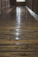 山梨県 恵林寺 うぐいす廊下