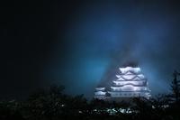 兵庫県 姫路市 姫路城の夜景