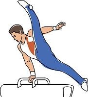 体操競技 あん馬