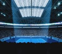 スタジアムイメージ テニスコート