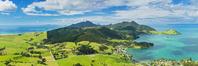 ニュージーランド マナイア山からみたファンガレイ・ヘッズ