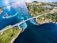 ノルウェー サルトストラウメン海峡