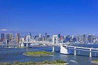東京都 お台場と高層ビル群