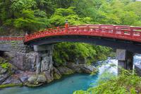 栃木県 神橋と大谷川