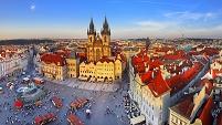 チェコ 旧市街広場