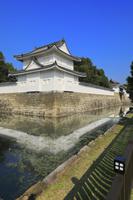 京都府 二条城 東南隅櫓と東大手門