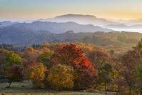 長野県 大峰高原の紅葉