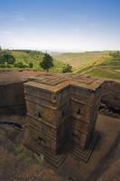 エチオピア ラリベラの岩窟教会群