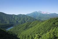 福島県 磐梯山と中瀬沼
