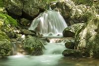 福島県 大玉村 杉田川渓谷 三日月滝