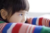 日本人の女の子の横顔