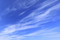 青空 すじ雲