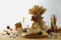 秋のテーブルコーディネート