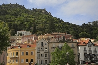 ポルトガル シントラの町並み