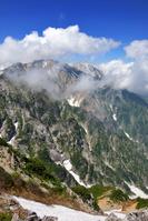 長野県 八方尾根から白馬鑓ヶ岳
