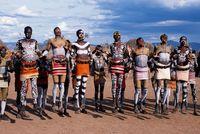 エチオピア ハマル族
