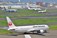 羽田空港 JAL B767-300 など