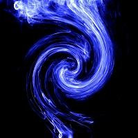 渦のイメージ(煙)