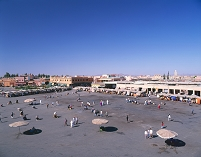 モロッコ マラケシュ フナ広場