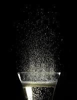 スパークリングワインのしぶき