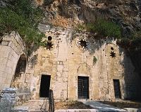 トルコ  聖ペテロの洞窟教会