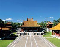 中国 東陵・隆恩殿