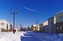 北海道 札幌市の住宅街