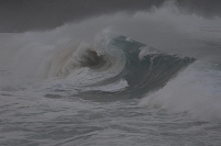 ハワイ オアフ島 ノースショア 波