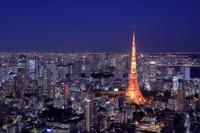 東京都 六本木ヒルズ展望室からの夜景