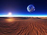 宇宙砂丘と自然