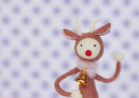 トナカイのクリスマスクラフト
