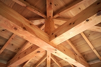 木造建築の梁